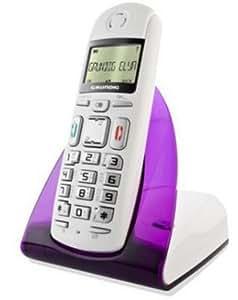 Grundig Elya Schnurlostelefon weiß/violett