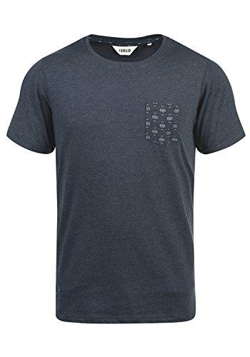 !Solid Ilari - Camiseta para Hombre, Tamaño:XL, Color INS BLU M (P8991)