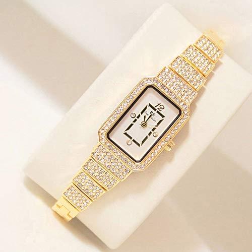 Damen-Armbanduhr, mit Strasssteinen, bequemes Tragen, für Partys, Kostüme, Luxus-Marken-Schmuck, Valentinstag-Geschenk, - Definition Kostüm Party