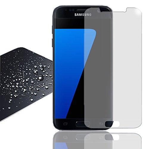 Eximmobile Panzerfolie für Samsung Galaxy Ace 4 Echt Glasfolie (klar) für besten Bildschirmschutz Selbstklebende Bildschirmschutzfolie 9h Glasfolie rückstandslos entfernbar Schutzfolie Folie