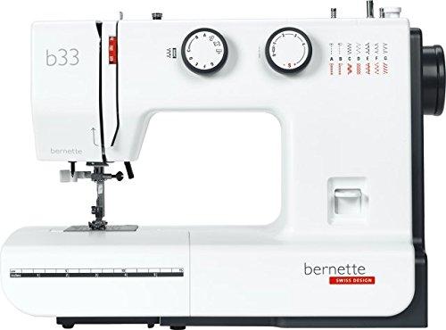 Bernette 33 | Die preisgünstige mechanische Nähmaschine für Anfänger – einfach bedienbar und kompakt