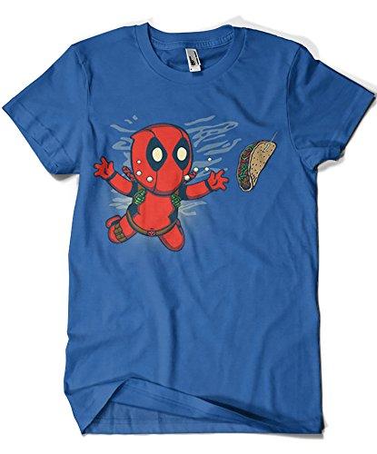 camisetas-la-colmena-t-shirt-homme-bleu-bleu-bleu-small
