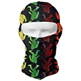 Rghkjlp Rasta Bigfoot Live Balaclava Windproof Ski Face Mask Winter Motorcycle Neck Warmer Tactical Hood for Women MenSnowboard Cycling Hat Outdoors Helmet Liner