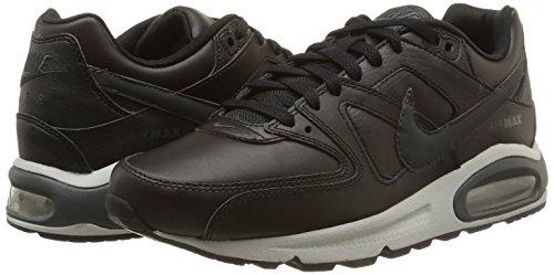reputable site bf5a8 98002 ... NIKE Men s Air Max Command Leather Shoe, Scarpe da Ginnastica Basse Uomo,  (Black ...