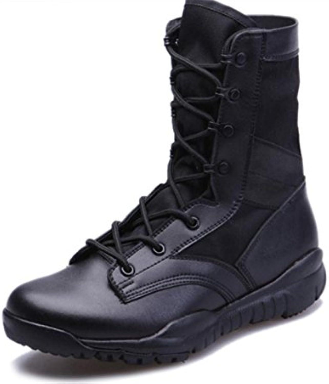 WXYfumlsup1r Herren Trendy Outdoor Hiking Schuhe Desert Schnumlsup1r stiefel