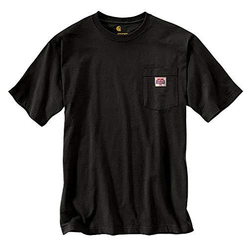 Carhartt Mens K87 Icon Cotton Crewneck T Shirt Tee - Tagless Crewneck Tee