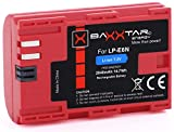 BAXXTAR PRO-Energy Qualitätsakku für Canon LP-E6N (echte 2040mAh) mit Infochip - Intelligentes Akkusystem Für Canon XC10 XC15 EOS R 60D 70D 80D 5D Mark I II III IV 6D 7D Mark I II