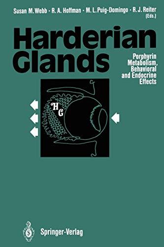 Harderian Glands: Porphyrin Metabolism, Behavioral and Endocrine Effects