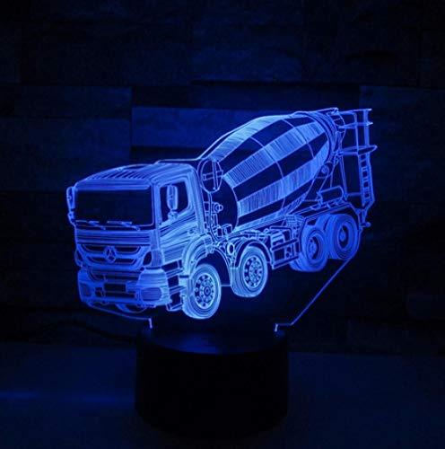 licht LED Touch Schalter 3d Lampe LKW Auto Baby Schlafatmosphäre Lampe als Kinder Geschenk ()