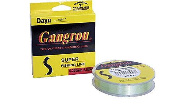 Eft Gangrou 0,22mm 6,5kg 300m monofile Angelschnur mono line