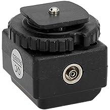 MYAMIA C-N2 Transizione Presa Hot Shoe Adapter Convertitore con Pc SYNC