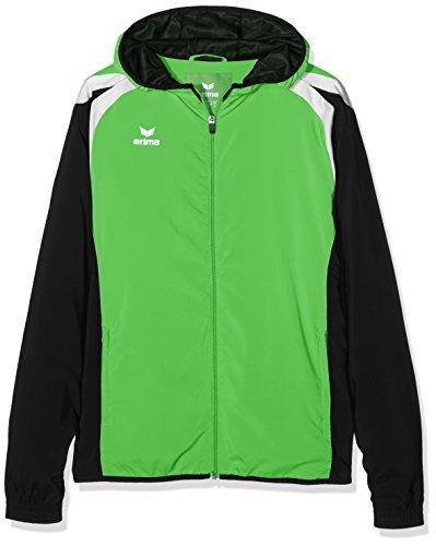 erima Damen Präsentationsjacke Razor 2.0 Green/Schwarz/Weiß, 36