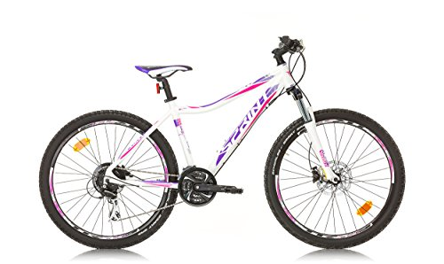 "BIKE SPORT LIVE ACTIVE Sprint APOLON Damen Mountainbike MTB 26"" Zoll Rahmen 480 mm 440 mm ACERA 3x8 (Perlweiß Lila, 480 mm)"