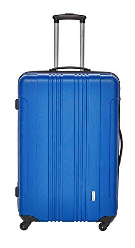 Packenger Kofferset - Torreto - 3-teilig (M, L & XL), Blau, 4 Rollen, Koffer mit Zahlenschloss, Hartschalenkoffer (ABS) robuster Trolley Reisekoffer - 2