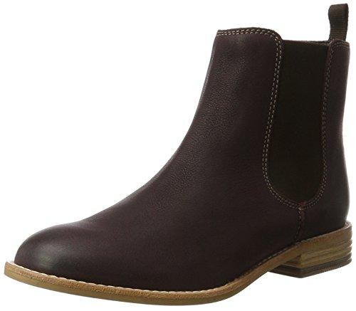 Clarks Damen Maypearl Nala Chelsea Boots, Violett (Burgundy), 38 EU - Damen-wallabee Boot
