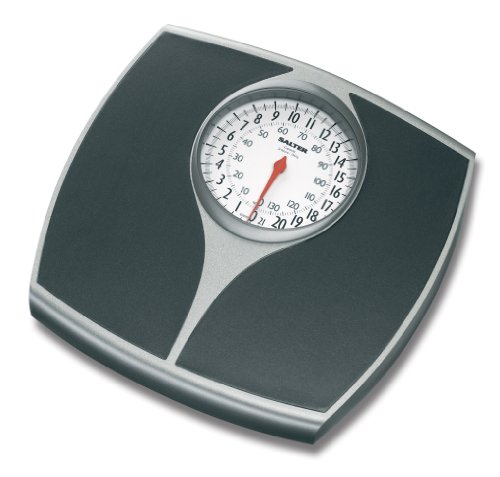 Salter 148BKSVDR Speedo Mechanical Scale - Black and Silver
