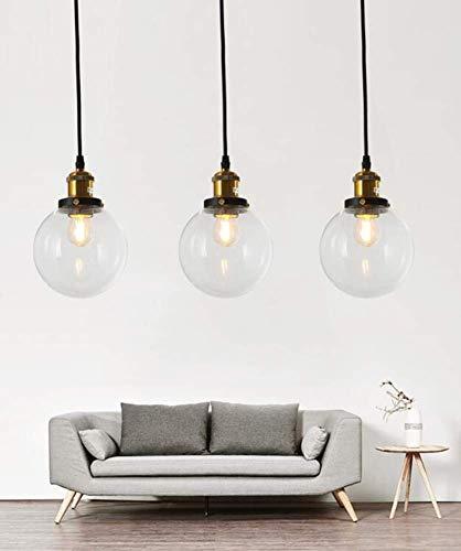 DEJ Deckenleuchte Lampenschirm Modern, Flush Mount Nordic Kronleuchter Schlafzimmer Bar Bar Flur Speisesaal 15X15X50Cm