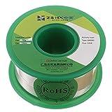 ZSHX Filo di saldatura senza piombo di alta qualità Sn99% Ag0.3% Cu0.7% Filo per saldatura a nucleo di colofonia per saldatura elettrica (0.8mm 50g)
