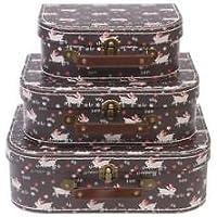 Preisvergleich für Generic Orage Sui Chic Style Stora Quirky Vintage Aufbewahrungsset Koffer, Qu HIC Style e Chic
