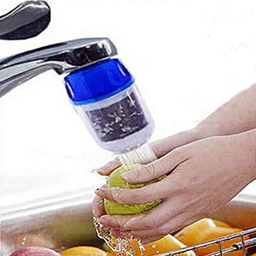 Abilieauty Aktivkohle Wasser Sieb Filter Haushalt Wasserhahn Wasserfilter Luftreiniger Wasser Filter Wasseraufbereitung -