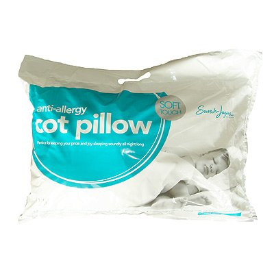Sarah Jayne Anti-Allergy Pillow, Cot/Cot Bed