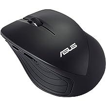ASUS WT465 - Ratón (RF inalámbrico, Óptico, Oficina, mano derecha, USB), color negro