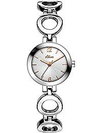 s.Oliver Damen-Armbanduhr SO-3248-MQ