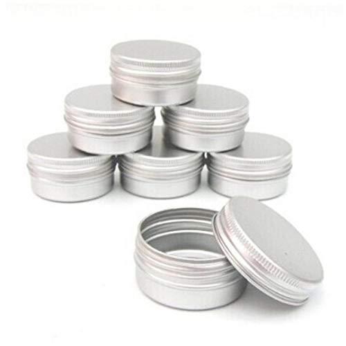 OMMO LEBEINDR Balm Nail Art kosmetische Creme Make Up Pot Lip-Kasten-Behälter Schraube 15ml Handbuch Messerschärfer Wetzstahl