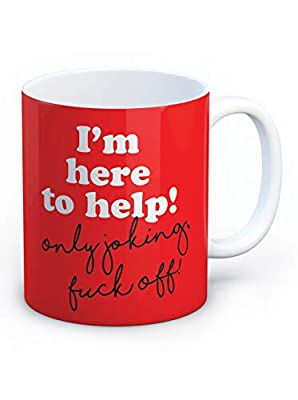 Funny Rude 'I'm Here to Help' Humorous Novelty Gifts : everything £5 (or less!)
