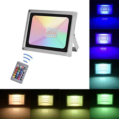 Sararoom 30W Foco LED RGB