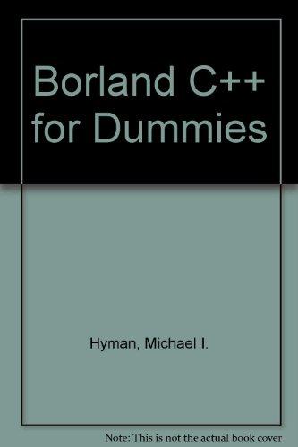 Borland C++ For Dummies