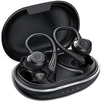 Muzili Auriculares Bluetooth Deportivos V5.0 IPX7 Impermeable Auriculares Bluetooth Inalambricos Movil 36H Tiempo de Reprodución Sonido Estéreo con Microfono Incorporado Caja de Carga