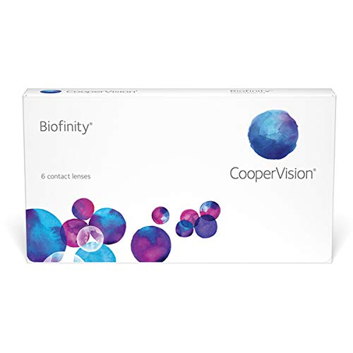 Biofinity Monatslinsen weich, 6 Stück / BC 8.6 mm / DIA 14.0 / -2,50 Dioptrien