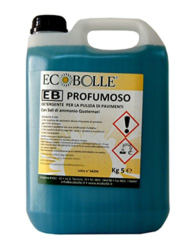 Ecobolle lavapavimenti profumoso professionale concentrato 5kg