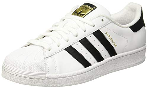 adidas Superstar, Zapatillas de deporte para Hombre, Blanco (Ftwr White/Core Black/Ftwr White Ftwr White/Core Black/Ftwr White), 42 EU