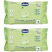Chicco 1703496031 - toallitas 2x72 uds