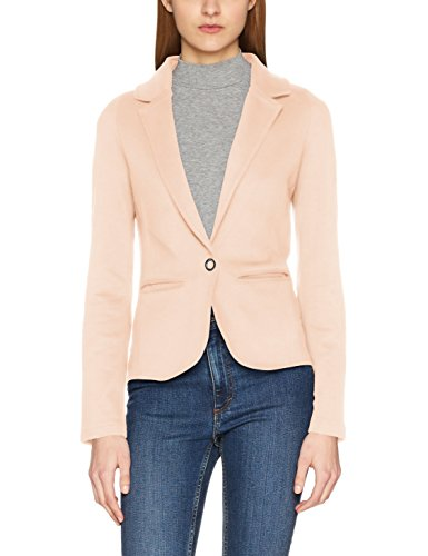 Only Onlclaudia L/s Blazer Swt, Chaqueta de Traje para Mujer, Rosa (Peach Whip),...