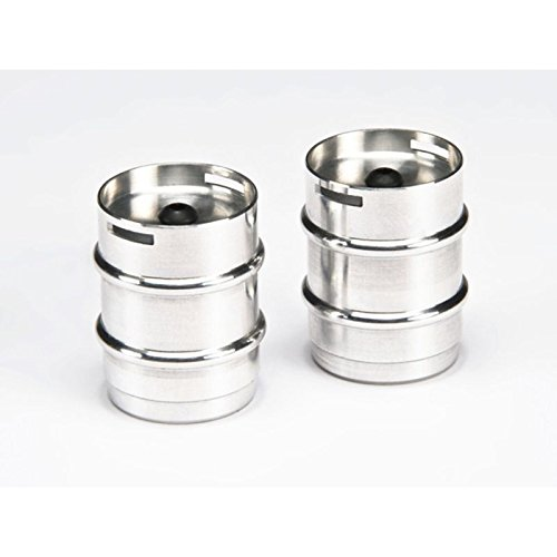 TAMIYA CARSON Parts Aluminum Steel Keg (2) C907098 500907098