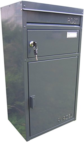 SafePost Paketkasten Parcelbox PB45 in schwarz thumbnail
