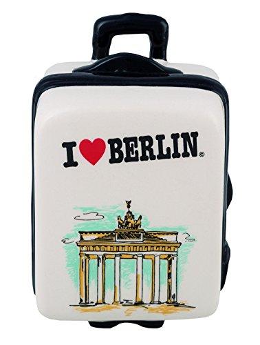"""Spardose / Sparbüchse / """"Mini Koffer I love Berlin"""""""