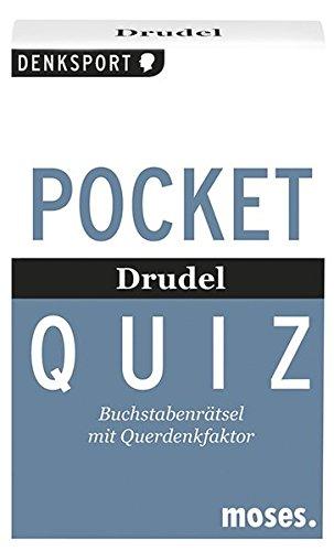 Pocket Quiz - Drudel: Buchstabenrätsel mit Querdenkfaktor