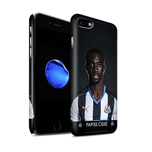 Officiel Newcastle United FC Coque / Clipser Matte Etui pour Apple iPhone 7 / Mbemba Design / NUFC Joueur Football 15/16 Collection Cissé