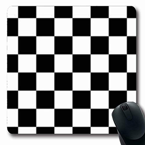Gsgdae Mousepads Vintage Checker Square Abstrakte Finishing Black White Racing Kariert Pattern Board Car Rechteckige Form 20,32 x 24,1 cm Rechteckiges Gaming Mauspad Anti-Rutsch Mauspad - Racing Camo