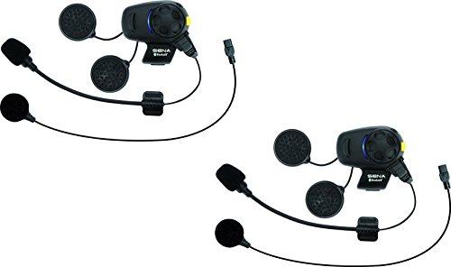 Sena SMH5D-FM-UNIV Bluetooth Headset und Gegensprechanlage mit eingebautem UKW, Doppelpack -