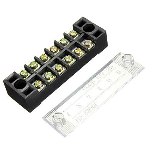 MG Universal Double Row Barrier Block Screw Terminal Strip Panel Screw Terminal Panel