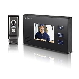 SWANN SWHOM-DP870C Doorphone Video Intercom with 3.5-inch Colour LCD Night Vision Camera