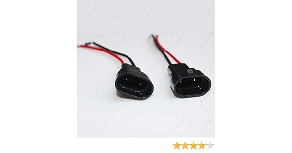HB4 9006 HEADLIGHT FOG LIGHT BULB CONNECTOR HOLDERS WIRE PLUG replace UK SELLER