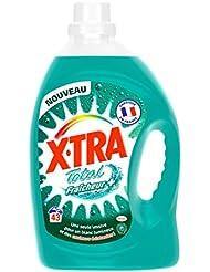 X Tra Total Fraîcheur + Lessive Liquide Flacon 3,01 L 43 Lavages