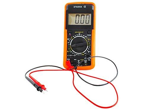 Iso Trade DT9205A Voltmeter Digital Multimeter Amperemeter Kapazität Tester 9V 601