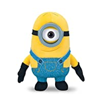 Minion Stuart from Despicable Me 2 is just as cute in Plush Buddy form. Villainous Gru's loyal servant is made of soft, huggable material - perfect for snuggling up to. 14cm tall Stuart is highly detailed and great for kids aged four and up. ...
